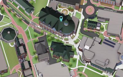 library location near bus circle