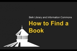 Watch How to Find a Book on YouTube