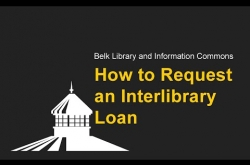 Watch How to Request an Interlibrary Loan on YouTube