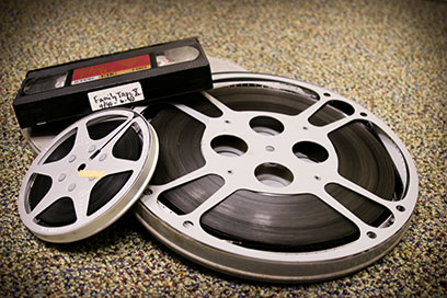 Reels and VHS tape
